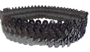sequin headbands sequin stretch headbands 1 stretch sequin headband sparkly