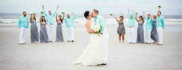 Beach Wedding Jacksonville Beach Sun U0026 Sea Beach Weddings