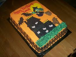 scary halloween sheet cakes u2013 festival collections