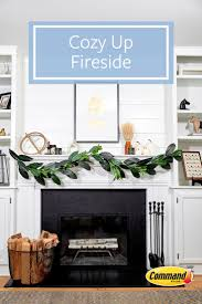 292 best home decorating organizing tips images on pinterest add some greenery and neutral tones to your fireplace mantel for a scandi inspired look