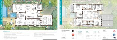 villa floor plan floor plans sanctuary falls jumeirah golf estates villas for
