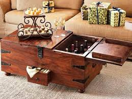 Rustic Coffee Tables With Storage Coffee Table Trunk Coffee Table With Storage Home Interior Design