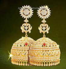 buttalu earrings diamond buttalu dazzling design jewellery designs