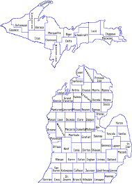 area code map of michigan mdhhs county offices