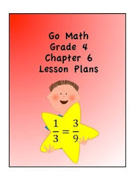 go math grade 4 chapter 6 lessons by catania teachers pay teachers