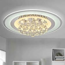 round 40w led ceiling light fixture l bedroom kitchen modern led ceiling lights for indoor lighting crystal led round