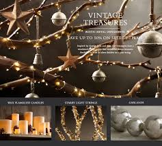 tree decorations restoration hardware holliday decorations