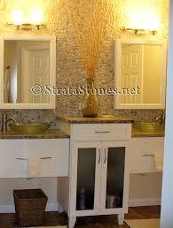Wall Bathroom Vanity Bathrooms With Tiled Walls Design Ideas Photo Gallery