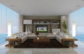 living room sleek and spacious modern living trends modern home