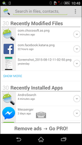 contacts app android how to quickly search for files contacts apps on android