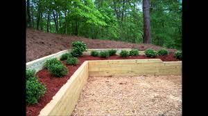 timber garden retaining wall ideas u2022 wall decorating ideas