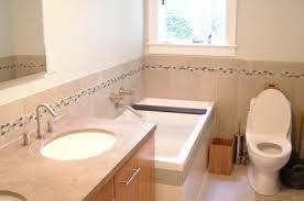 easy bathroom tile border mesmerizing bathroom remodeling ideas
