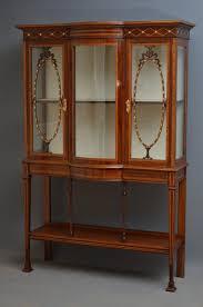 edwardian display cabinet mahogany memsaheb net
