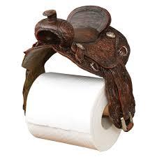 saddle toilet paper holder