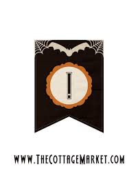 halloween banner letters u2013 festival collections