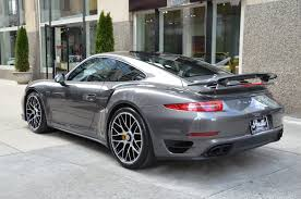 grey porsche 911 2014 porsche 911 turbo s stock r224ba for sale near chicago il