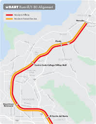 Sf Bart Map West Contra Costa Regional Panel Nixes Further Study Of Bart