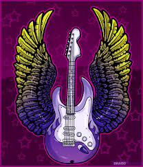 how to draw a guitar with wings guitars