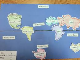 World Map With Equator Student Made World Map Learning Lab Resources