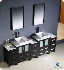 Modern Double Sink Bathroom Vanities Del - Bathroom vaniy 2