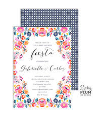 fiesta baby shower invitation couples baby shower invitation