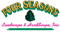 Four Seasons Landscaping by Patio Walkway Hardscape Installation Company Ma