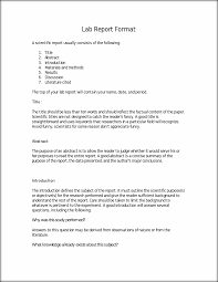 lab report template microsoft word the report format templates franklinfire co