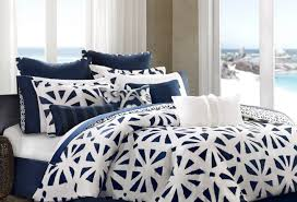 White And Blue Bedroom Airness Bed Sheets Black And White Tags White And Blue Bedding