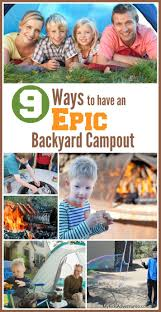 Backyard Campout Ideas How To Plan A Backyard Campout Adventure With Your Kids Family