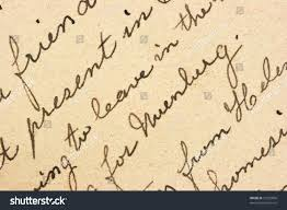 pen writing on paper vintage hand writing on letter old stock photo 10229896 shutterstock vintage hand writing on a letter old paper with visible structure pen ink