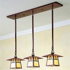 craftsman chandelier arts and crafts chandelier house of