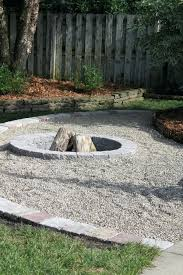 Gravel Backyard Ideas Gravel Patio With Pit Pit Hotel Pea Gravel Pit