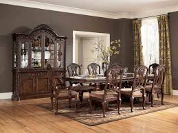 ashley furniture dining room sets bombadeagua me ashley furniture north shore round pedestal table in dark brown