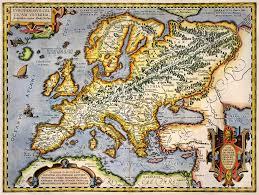 Map Of Europe 1600 Map Of Europe Wallpaper Wallpapersafari