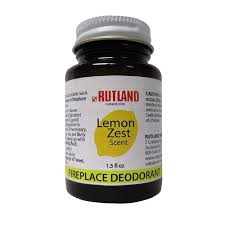 rutland 1 5 fl oz lemon zest fireplace and stove deodorant 85l