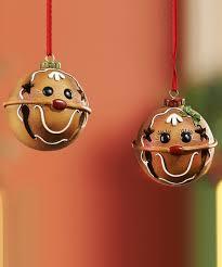gingerbread jingle bell ornament diy crafts