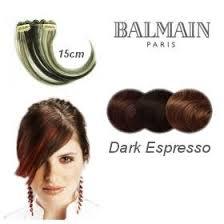 balmain hair buy balmain hair make up color fringe 15cm espresso online
