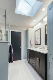 project finished 1989 bathrooms become beautiful contemporary skylight brings natural daylight into des moines bathroom by remodeler silent rivers