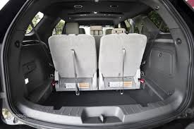 Ford Explorer Trunk Space - seats up ford explorer cargo area ford explorer third row seats