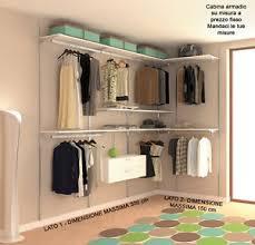 armadio guardaroba offerte armadio su misura cabina armadio guardaroba kit arredamento