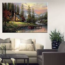 compare prices on thomas kinkade oil painting online shopping buy