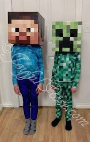 Craft Halloween Costumes Minecraft Steve Costume Carbon Costume Boards