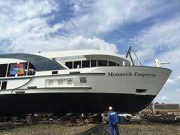 launching of monarch empress u2013 teamco shipyard connecting