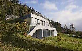 landscape house this house was embedded into the beautiful french landscape your