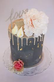 bespoke cakes artisana bespoke cakes drippy grey cake with pale pink