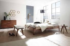Schlafzimmer Bett Buche Kopfteil Massivholz Aus Naturfarbener Buche Mit Edlen Eichen