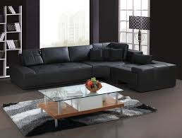 Brown Leather L Shaped Sofa L Shaped Leather Sofas All About House Design Cozy Regarding Sofa
