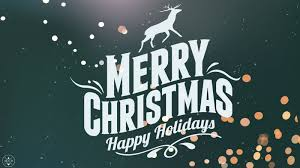 merry and happy holidays to all of you benjamin