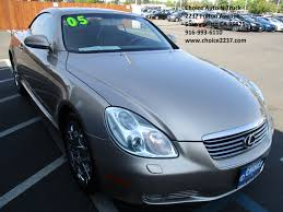 lexus sc430 for sale used 2005 lexus sc 430 convertible 2d sc430 prices values u0026 sc 430