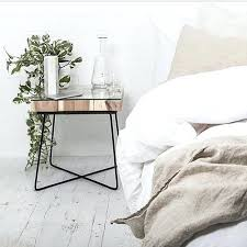 minimalist bedside table minimalist bedside table we love this copper bedside table the